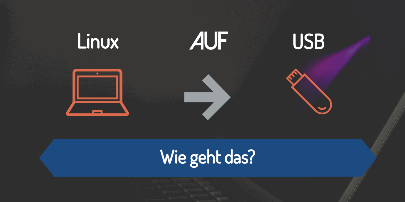 Linux auf USB Stick installieren