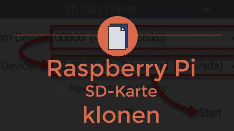 Raspberry Pi SD Karte klonen Beitragsbild