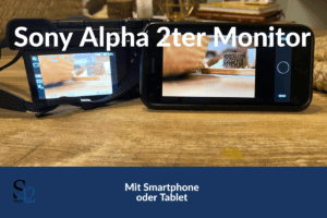 sony alpha 6300 mirror screen SmartPhone How To