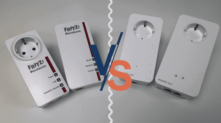AVM Fritz Powerline 1260E_1220E vs devolo Magic 2