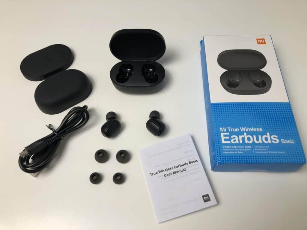 Lieferumfang Mi True Wireless Earbuds Basic