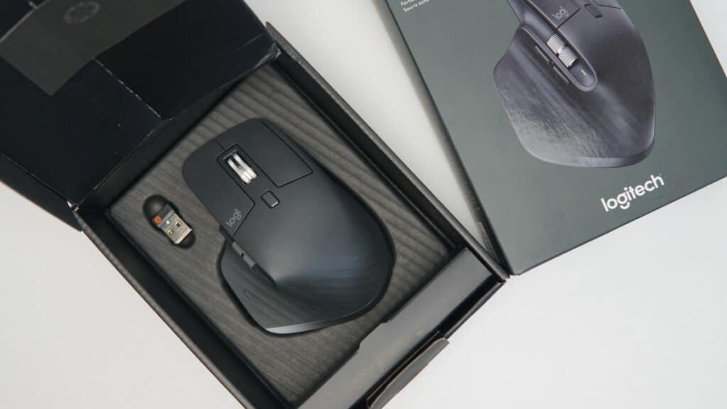 Logitech MX Master 3 Verpackung