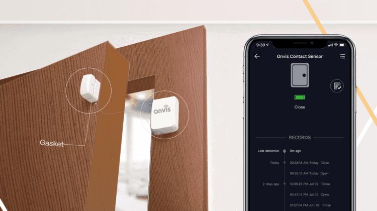 HomeKit Tür Fenster Kontakt Onvis CT2