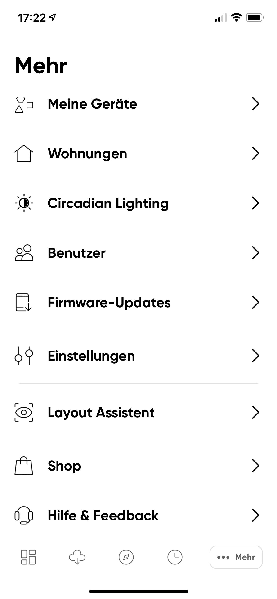 Nanoleaf App Layout Assistent