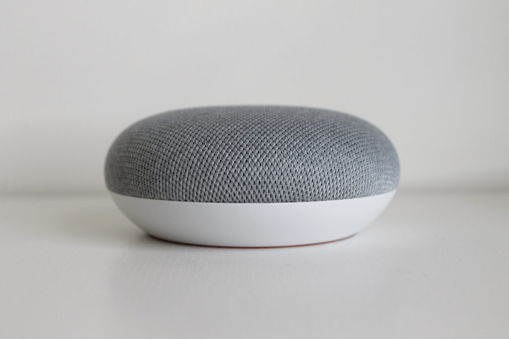 Sprachassistenten Google Assistant in Google Home