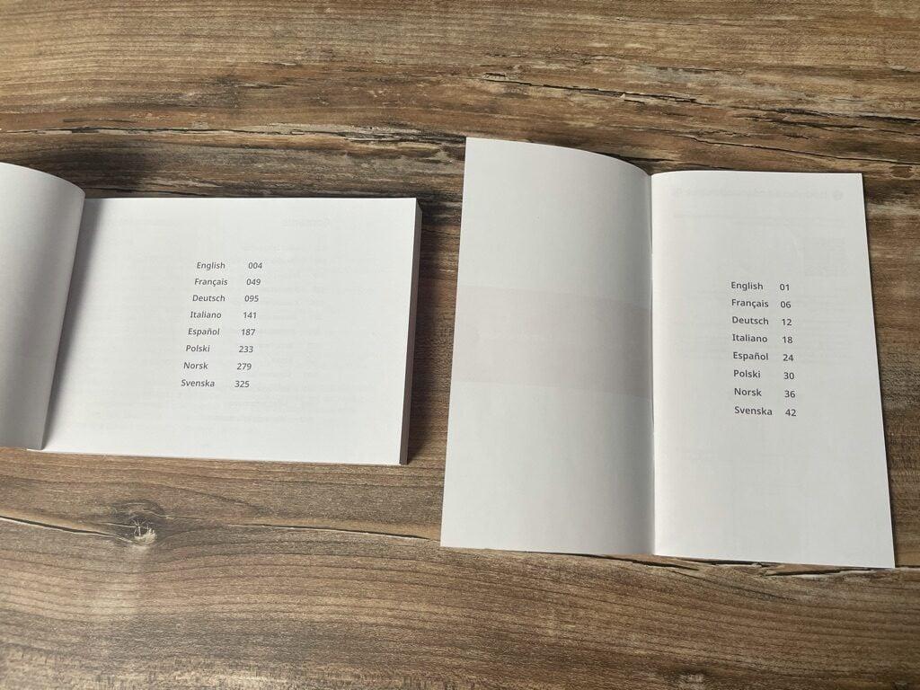 Lieferumfang Roborock S7 - Anleitungen